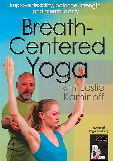 BREATH CENTERED YOGA BY KAMINOFF,LESLIE (DVD)